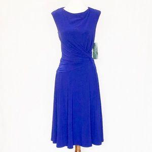 LAUREN Ralph Lauren Twist Knot Waist Dress